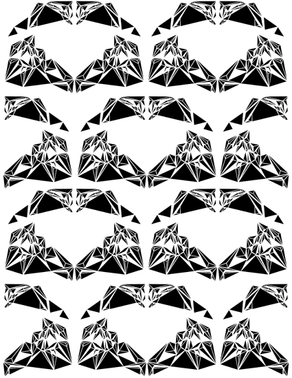 Olga Tiernan Diamond Print