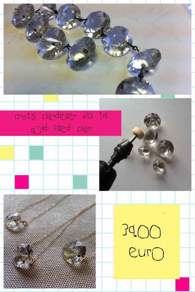 crystal neckalces